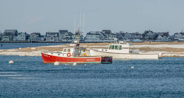 Photograph - Boats In Scituate Harbor by Brian MacLean