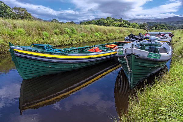Photograph - Boats In The Country by Debra and Dave Vanderlaan