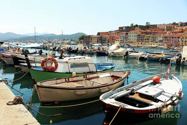 Wall Art - Photograph - Boats In The Harbour by MGL Meiklejohn Graphics Licensing