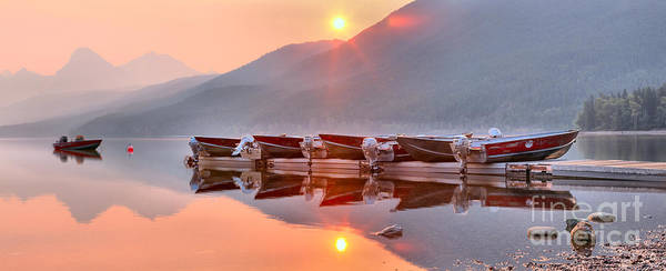 Photograph - Boats In The Smoke by Adam Jewell