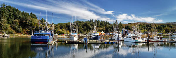 Photograph - Boats In Winchester Bay by James Eddy