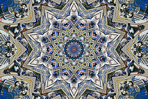 Photograph - Boats Kaleidoscope by Bill Barber