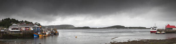 Wall Art - Photograph - Boats Moored In The Harbor Oban by John Short