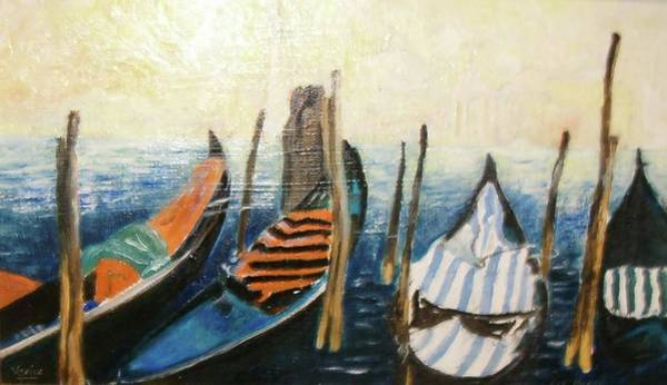 Photograph - Boats Of Colour by Elizabeth Hoare Gregory