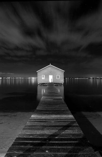 Foreshore Photograph - Boatshed by JR  Images