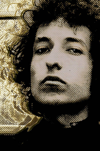 Painting - Bob Dylan 2 Vertical by Tony Rubino
