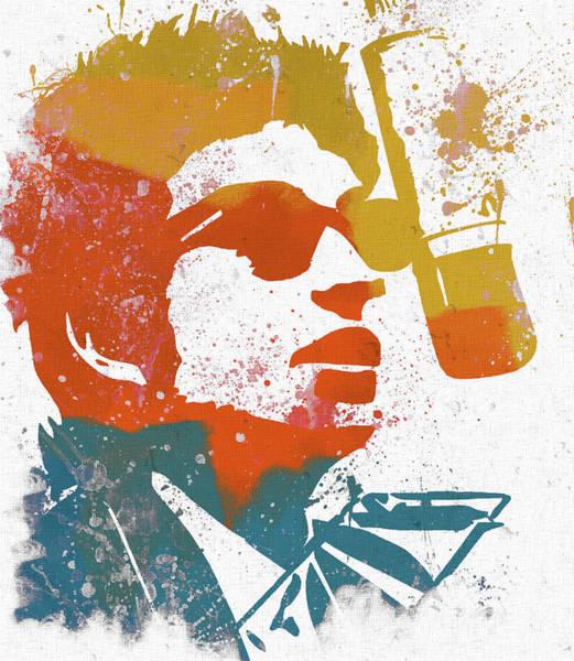 Classic Rock Mixed Media - Bob Dylan  by Dan Sproul