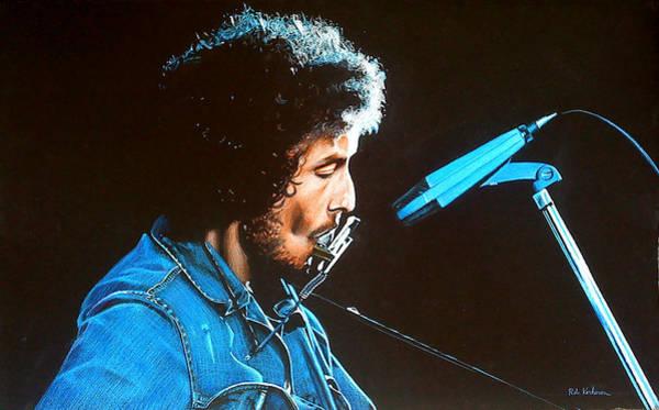 Wall Art - Pastel - Bob Dylan by Robert Korhonen
