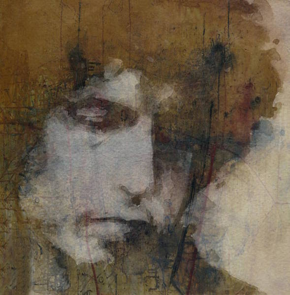 Wall Art - Mixed Media - Bob Dylan - The Times They Are A Changin' by Paul Lovering