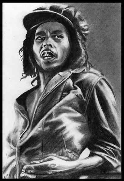 Wall Art - Drawing - Bob Marley by Alycia Ryan