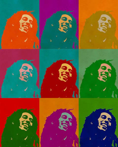 Digital Art - Bob Marley by Anthony Murphy