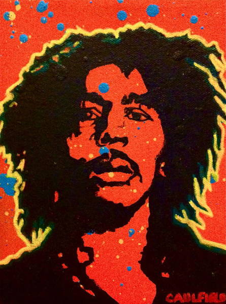 The Wailers Painting - Bob Marley by Heather Caulfield