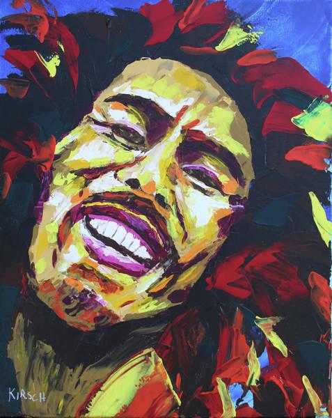 The Wailers Painting - Bob Marley by Robert Kirsch