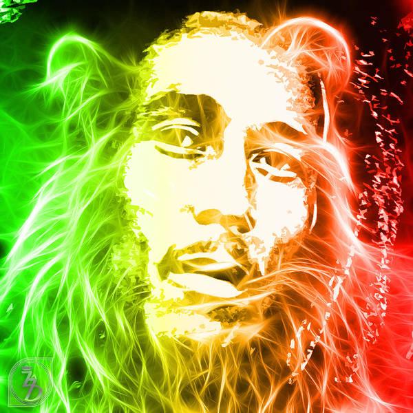Jamaica Digital Art - Bob Marley by The DigArtisT