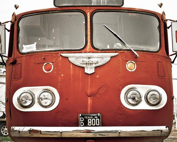 Photograph - Bob Wills Bus by Adam Reinhart