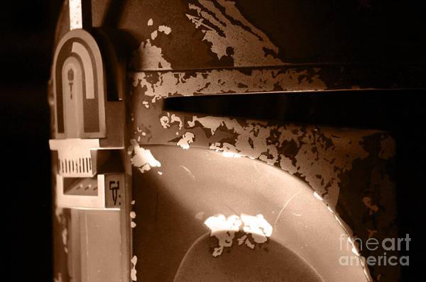 Wall Art - Photograph - Boba Fett Helmet 28 by Micah May