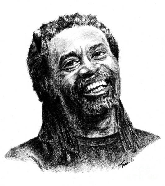 Drawing - Bobby Mcferrin by Toon De Zwart