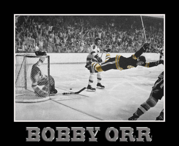 Photograph - Bobby Orr 5 by Andrew Fare