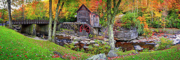 Grist Mill Photograph - Painted In Color  by Emmanuel Panagiotakis