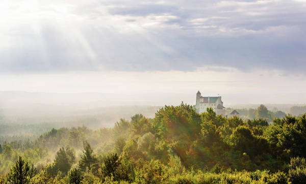 Photograph - Bobolice Castle In The Morning Haze by Dmytro Korol