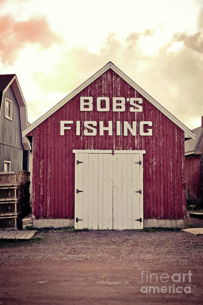 Photograph - Bob's Fishing North Rustico by Edward Fielding