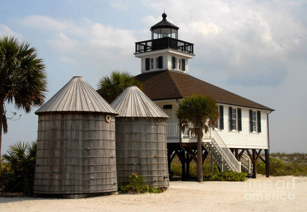 Boca Grande Photograph - Boca Grande Lighthouse by David Lee Thompson