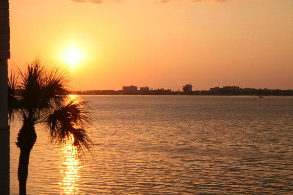 Willett Photograph - Boca Sunset2 by Mike Willett