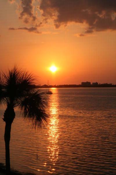Willett Photograph - Boca Sunset4 by Mike Willett
