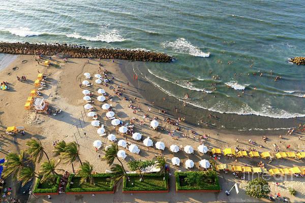 Photograph - Bocagrande Days In Cartagena by John Rizzuto