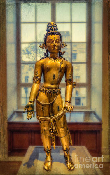 Buddhist Temple Wall Art - Photograph - Bodhisattva Avalokiteshvara by Adrian Evans