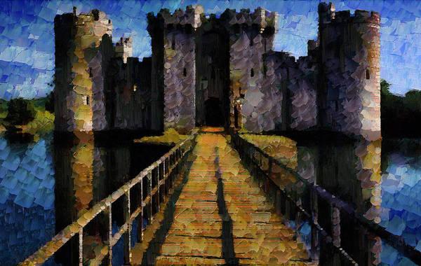 Bodiam Photograph - Bodiam Castle by Mario Carini