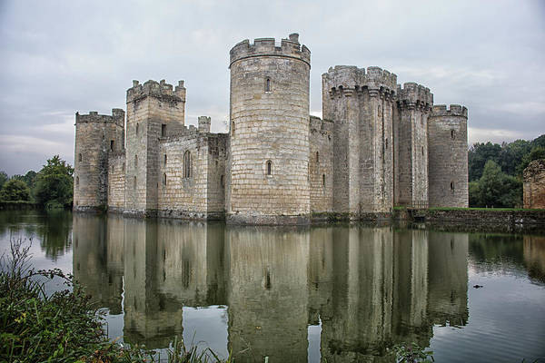 Surroundings Photograph - Bodiam Castle by Martin Newman