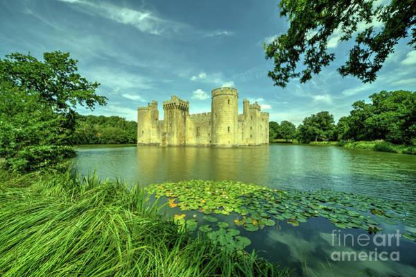 Bodiam Photograph - Bodiam Castle  by Rob Hawkins
