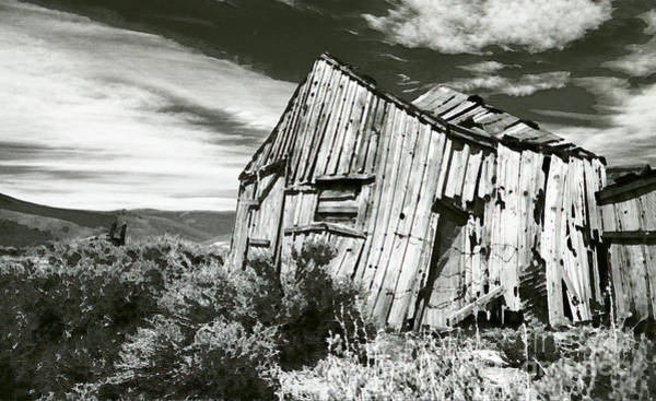 Photograph - Bodie Barn by Norman Andrus