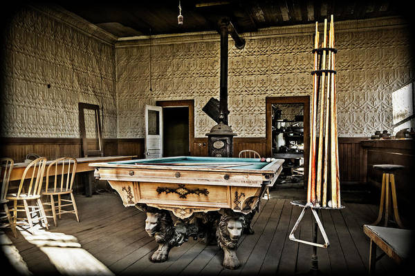 Wall Art - Photograph - Bodie Billiards by Kelley King