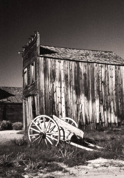 Bodie Ghost Town Wall Art - Photograph - Bodie Bunkhouse by Gary Brandes