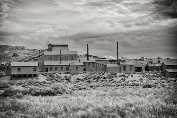 Photograph - Bodie Business In Black And White by Lynn Bauer