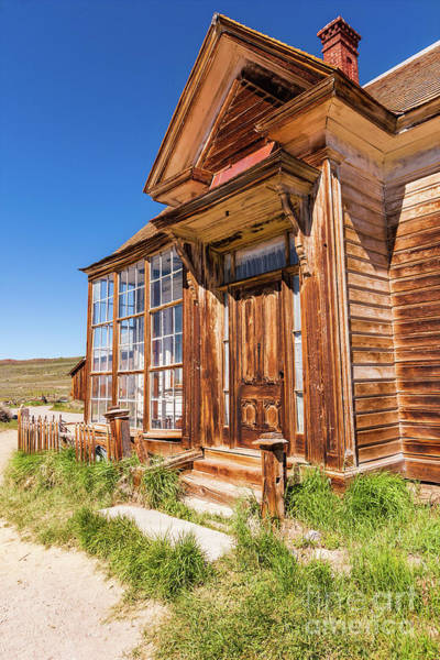Bodie Ghost Town Wall Art - Photograph - Bodie California Ghost Town Old House by Dan Carmichael