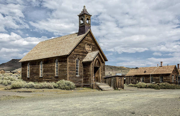 Photograph - Bodie Church by Scott Read