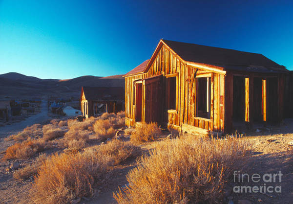 Bodie Ghost Town Wall Art - Photograph - Bodie Dawn by Vance Fox