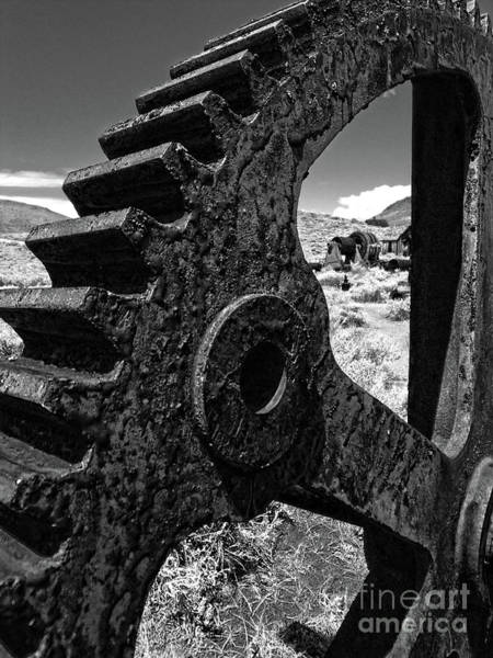 Photograph - Bodie Ghost Town Gear by Gregory Dyer