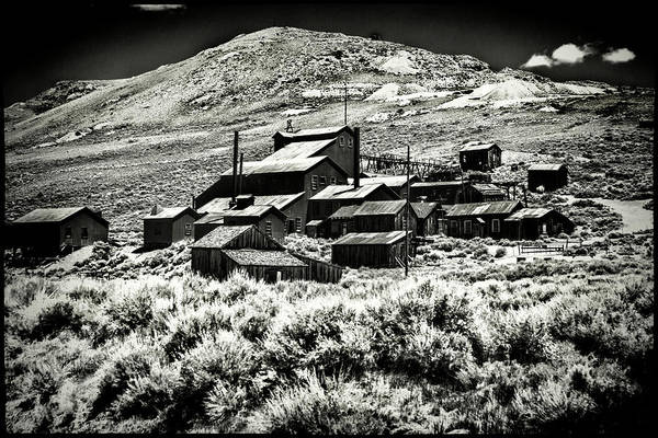 Photograph - Bodie Ghost Town Mine Ruins by Roger Passman