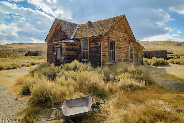 Bodie Ghost Town Wall Art - Photograph - Bodie House by Mike Ronnebeck