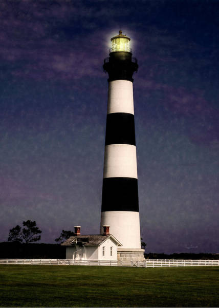 Photograph - Bodie Island Light Station by Penny Lisowski