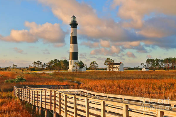 Roanoke Island Wall Art - Photograph - Bodie Island Lighthouse  3086 by Jack Schultz