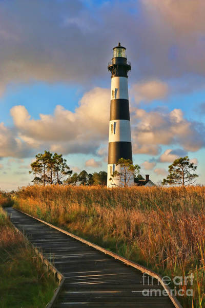 Roanoke Island Wall Art - Photograph - Bodie Island Lighthouse  3100 by Jack Schultz