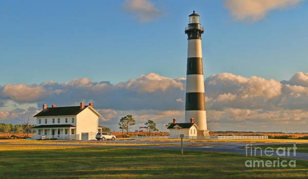Roanoke Island Wall Art - Photograph - Bodie Island Lighthouse  3104 by Jack Schultz