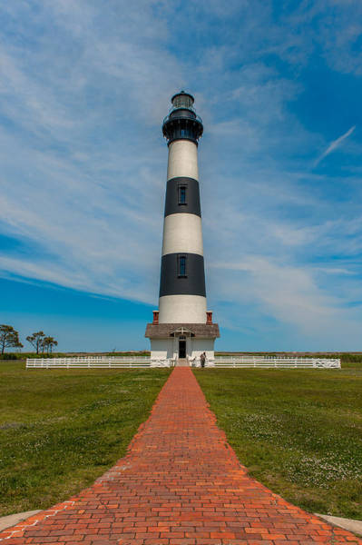 Photograph - Bodie Island Lighthouse by Brenda Jacobs