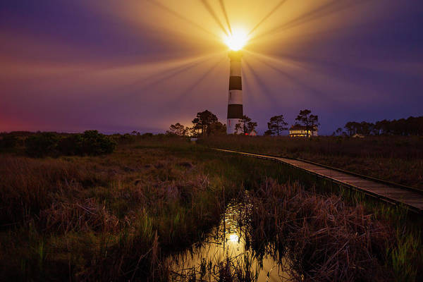 Photograph - Bodie Island Lighthouse  by Dennis Sprinkle