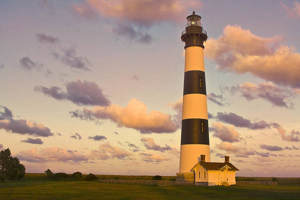 Photograph - Bodie Island Lighthouse by Ken Barrett